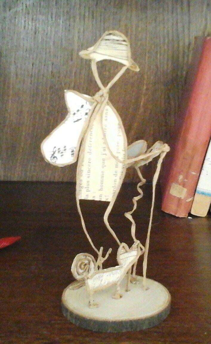 Figuren Aus Draht Selber Machen pin christiane schoenell auf papierdraht draht