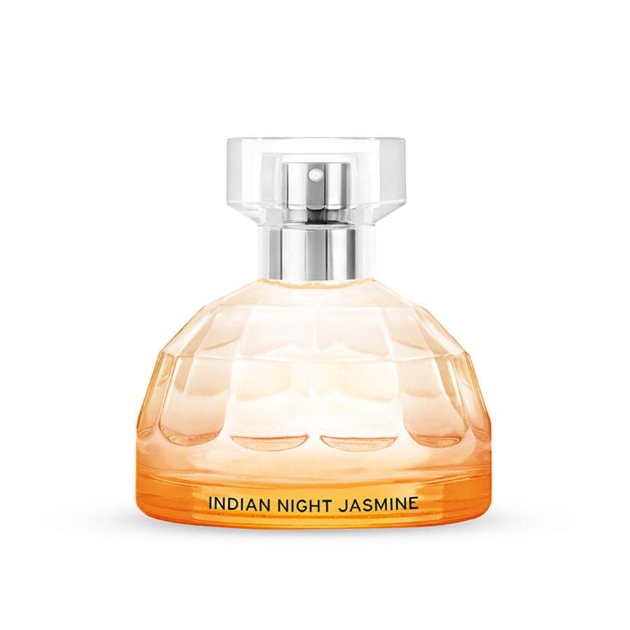 Indian night jasmine scented eau de toilette with organic