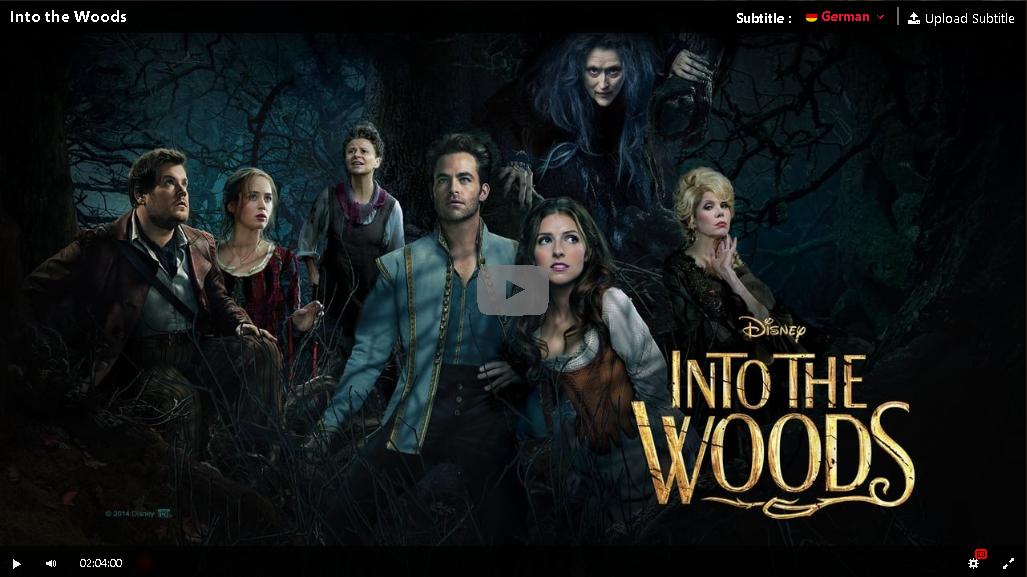 Into The Woods Ganzer Film Deutsch