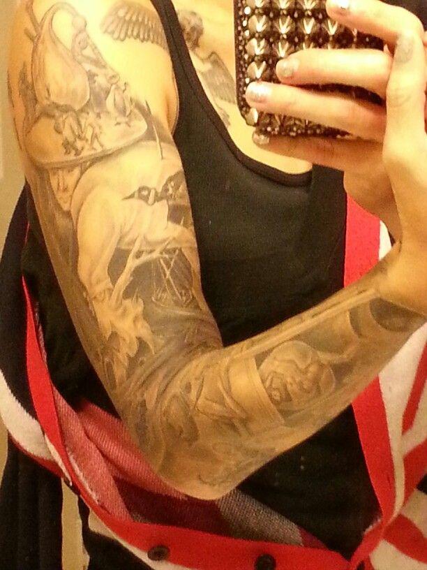 Hieronymus Bosch Tattoo Sleeve Tattoos And Piercings Pinterest