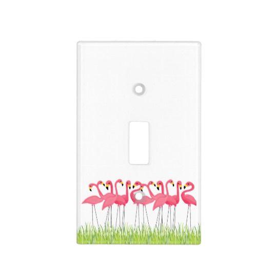 Cuban Pink Flamingos Light Switch Cover Zazzle Com Light Switch Covers Flamingo Lights Pink Flamingos