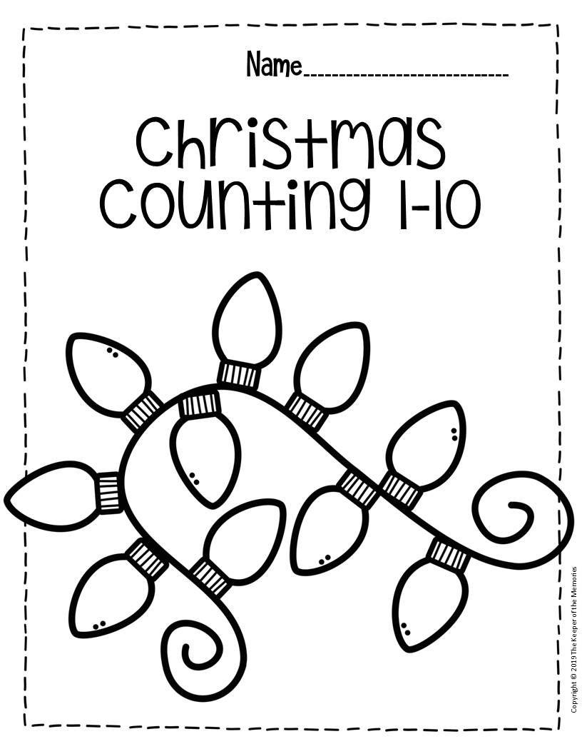 Free Printable Numbers Christmas Preschool Worksheets Christmas Kindergarten Preschool Christmas Worksheets Preschool Christmas Activities [ 1056 x 816 Pixel ]