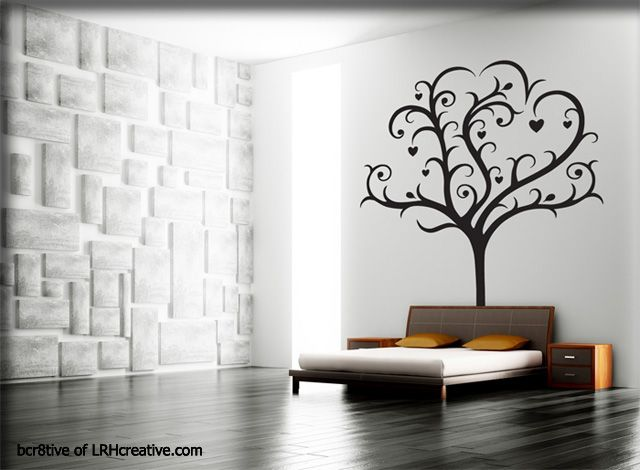 Family Tree Of Love Wall Decal When I Designed This One I - How to put up a tree wall decal