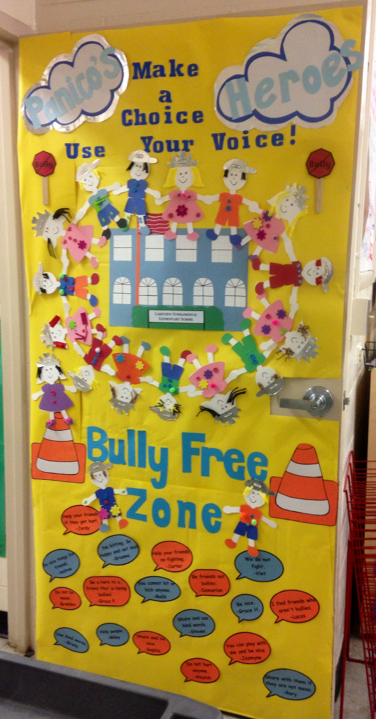 Anti Bully Week Door Banner Competition