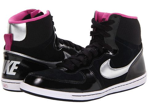 the best attitude 5ff5f 12175 Nike Terminator Lite Hi BlackClub PinkWhiteMetallic Silver - Zappos.com  Free Shipping BOTH Ways