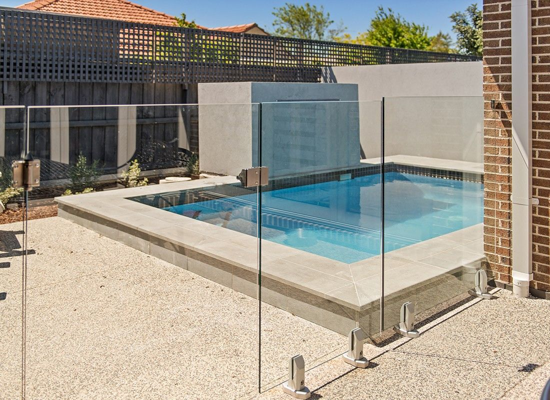 Fully Frameless Mini Post System Everton Glass Pool Fencing Pool Fence Pool