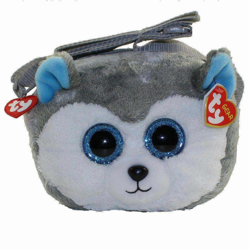 Ty Beanie Boo 8 Slush Husky Gear Plush Stuffed Animal Toy Purse W Strap Mwmts 8421951079 Ebay Ty Beanie Boos Boo Stuffed Animal Plush Stuffed Animals [ 1000 x 1000 Pixel ]