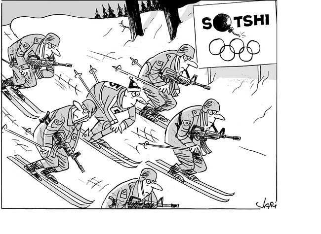 Winter Olympics this year...