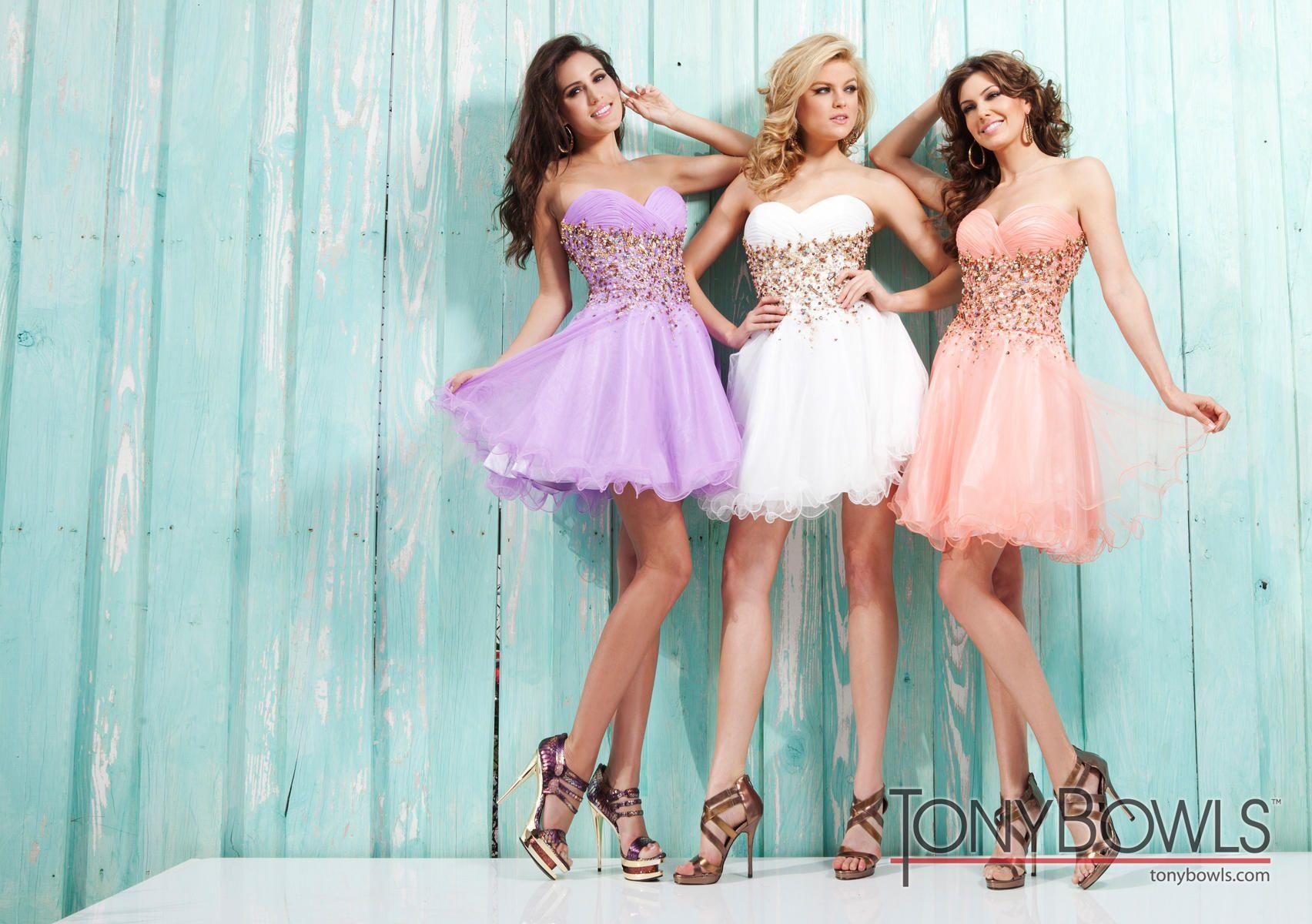 Tony Bowls Shorts Dress TS21323 | Terry Costa Dallas | HoCo/Prom ...
