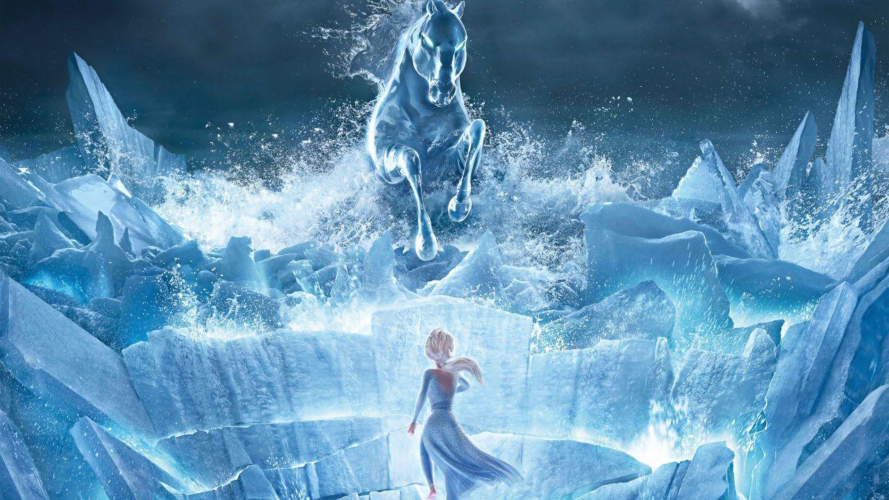 خلفيات Frozen 2 Wallpaperرائعة للويندوز اندرويد وايفون Lukisan Disney Putri Disney Animasi