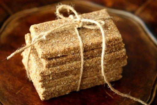 Super healthy flax seeds crackers / lijnzaad - www.culy.nl