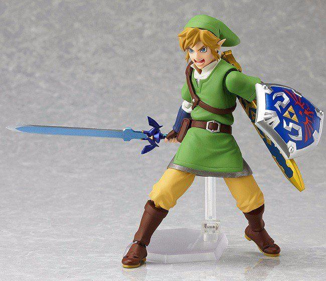 The Legend of Zelda Skyward Sword Master Sword PVC Figure Collection Toy in Box