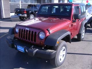 2013 Jeep Wrangler Sport Red Http Www Iseecars Com Used Cars