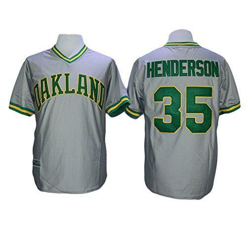 new product d2132 7208c Rickey Henderson Oakland Athletics Throwback Jerseys | Cool ...