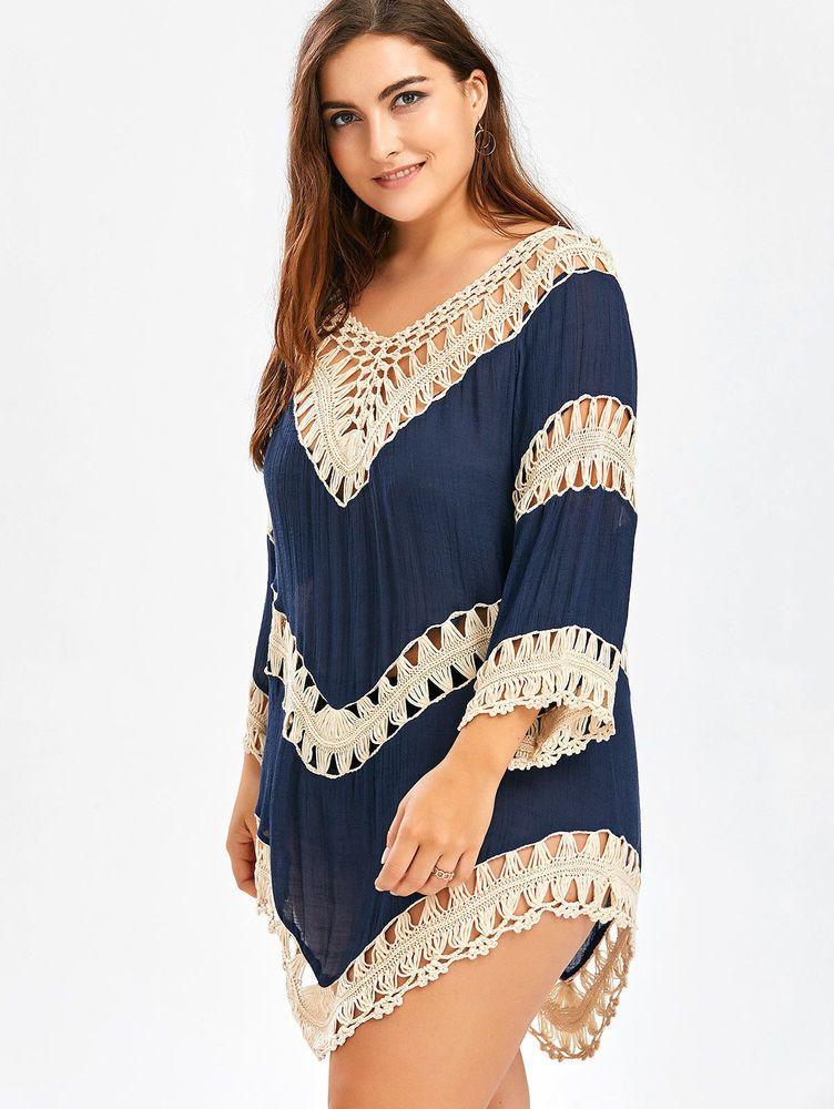 77043b7ca4bc Blusas Tops Ropa De Mujer De Moda Tallas Grandes Playa Roupa Plus ...