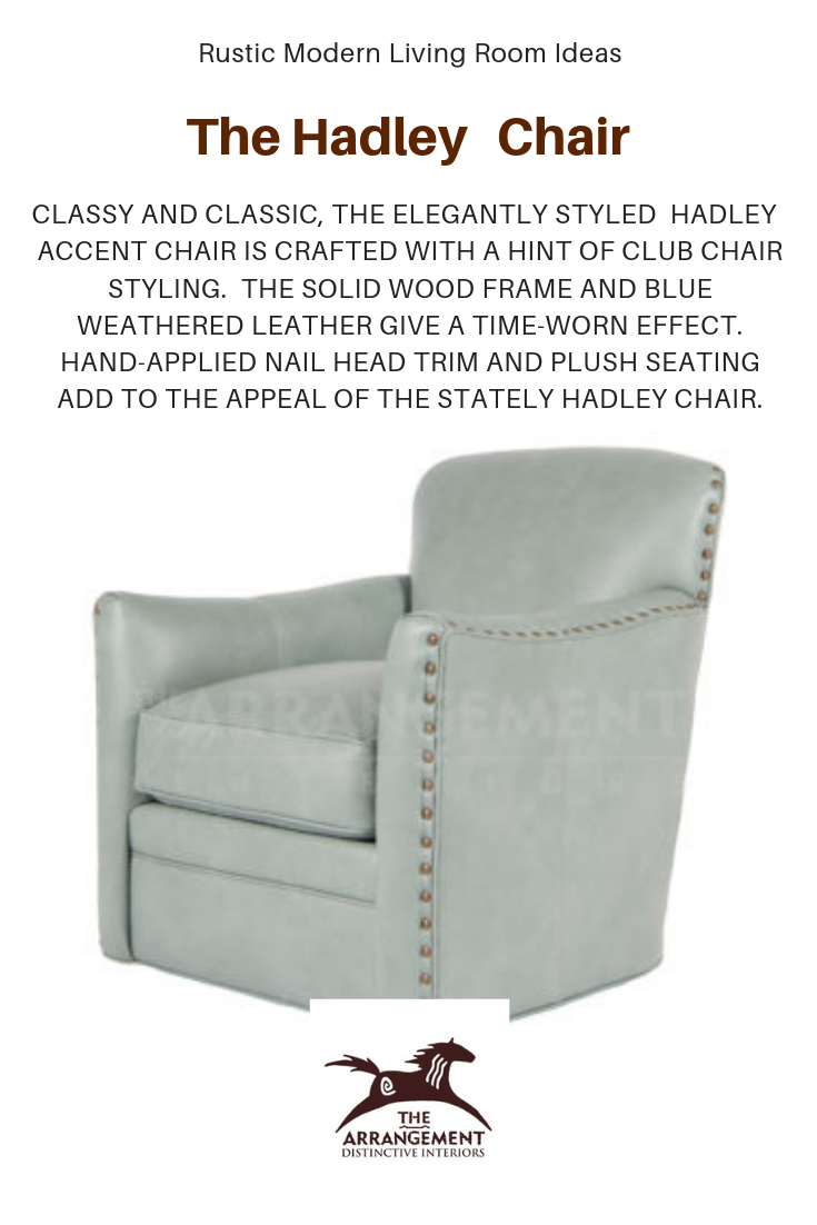 Rustic Modern Living Room Furniture Ideas The Laine Chair This Swivel Chair And A Modern Rustic Living Room Modern Furniture Living Room Turquoise Home Decor