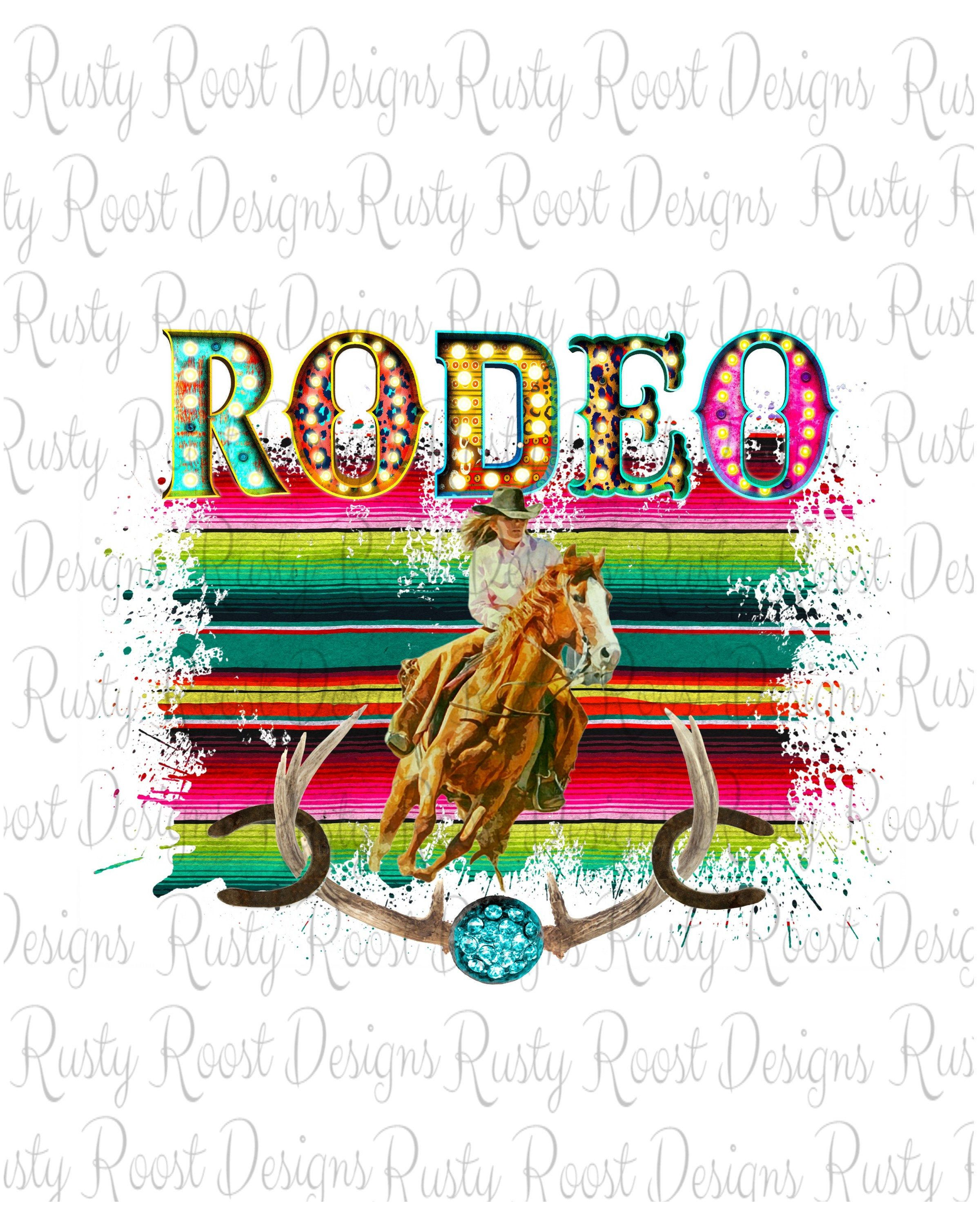 Rodeo sublimation designs downloadsBarrel racing Etsy in
