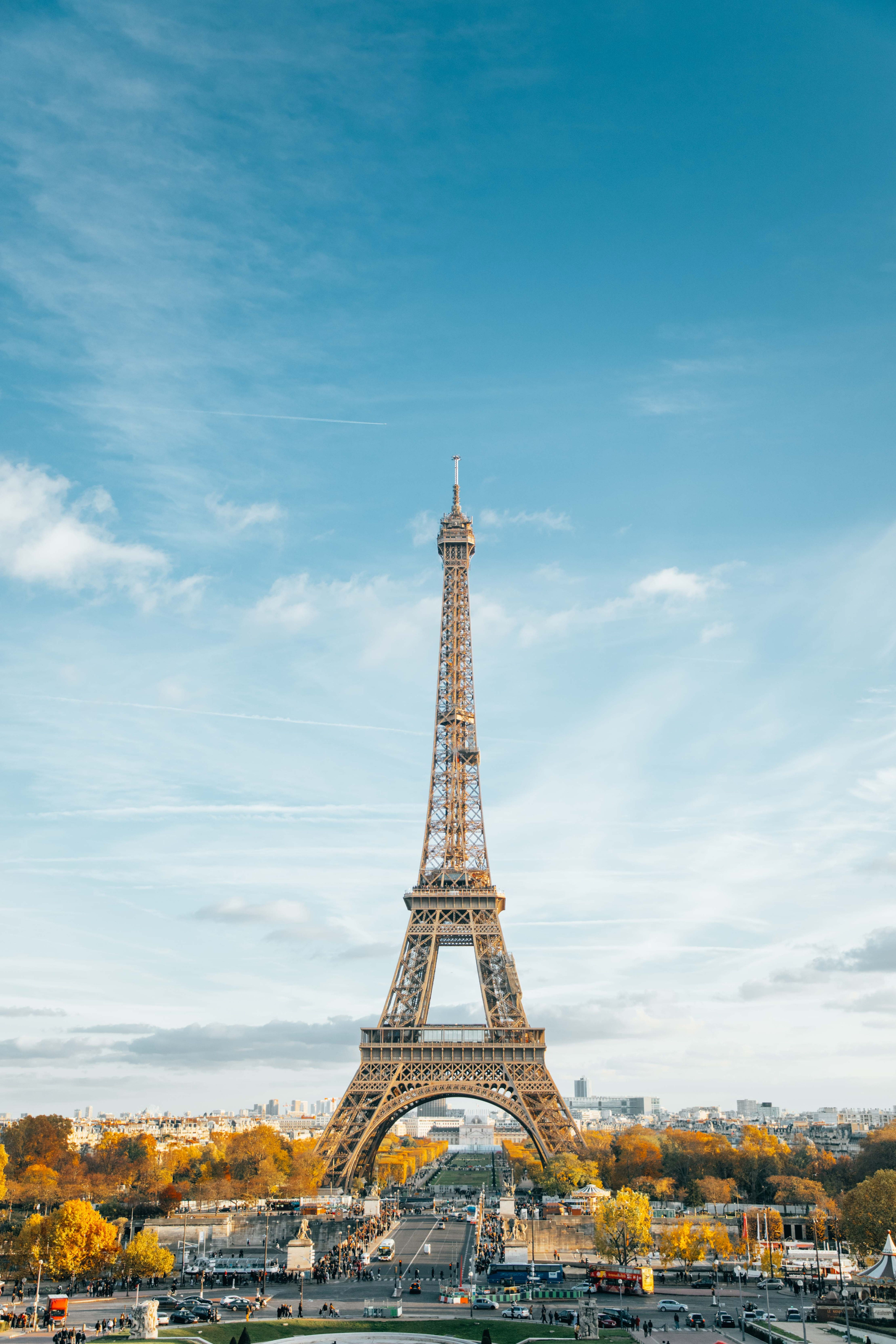 Tower, eiffel tower, blue and sky HD photo by Anthony ...