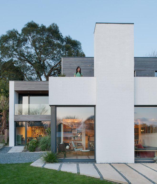 Fachada vidriada Casas lujosas Pinterest