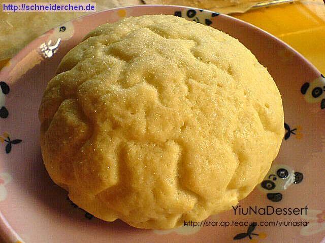 Japanese Melon Pan / 日式小熊巧克力菠蘿包