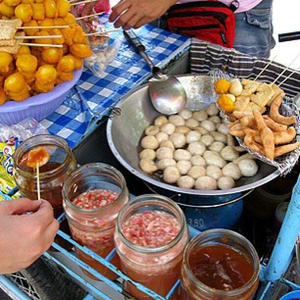 Pinoy Street Food Orange Egg