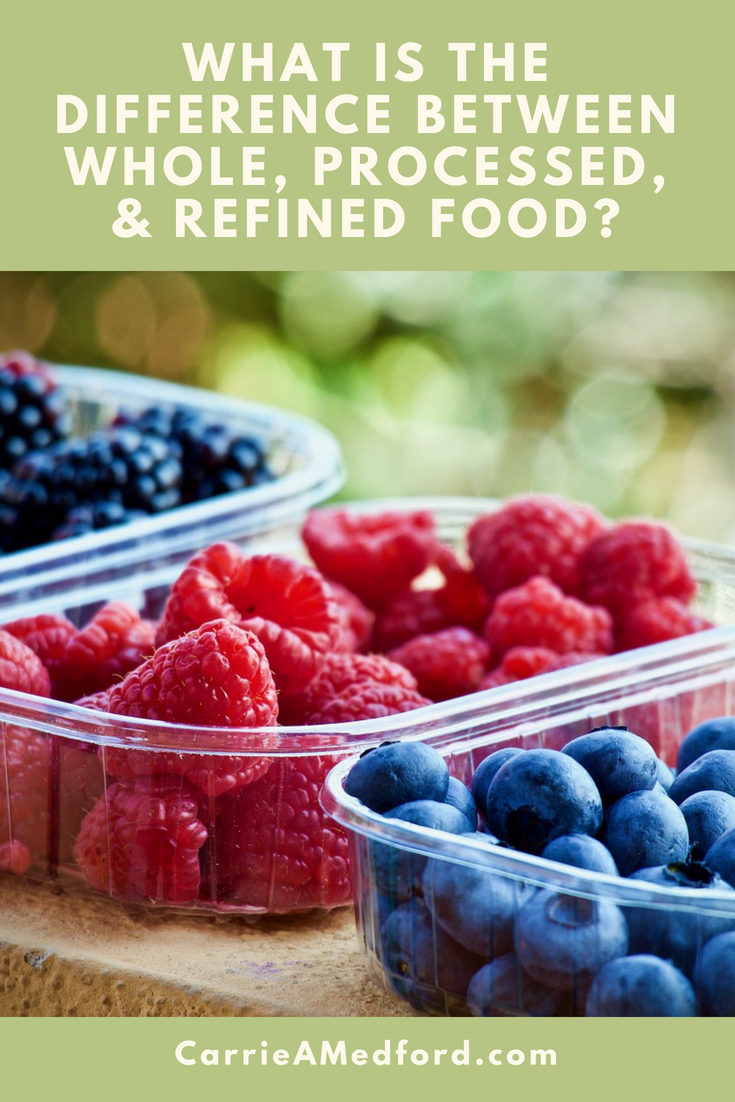 What Is The Difference Between Whole, Processed, & Refined