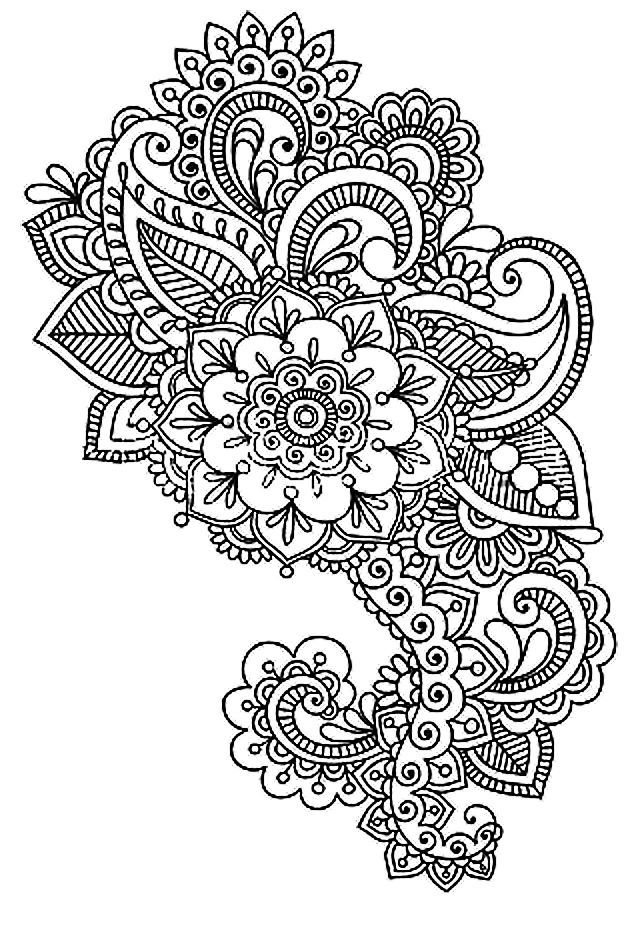 Coloriage anti stress colorier dessin imprimer - Dessins anti stress ...