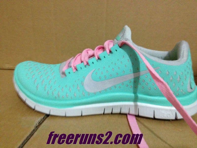 71c3bcec5c13 Womens Nike Free 3.0 V4 Tropical Twist Reflective Silver Pro Platinum Pink  Lace Tiffany Blue Nike Shoes  Tiffany Blue Nikes 023  -  59.95   Cheap Nike  Free ...