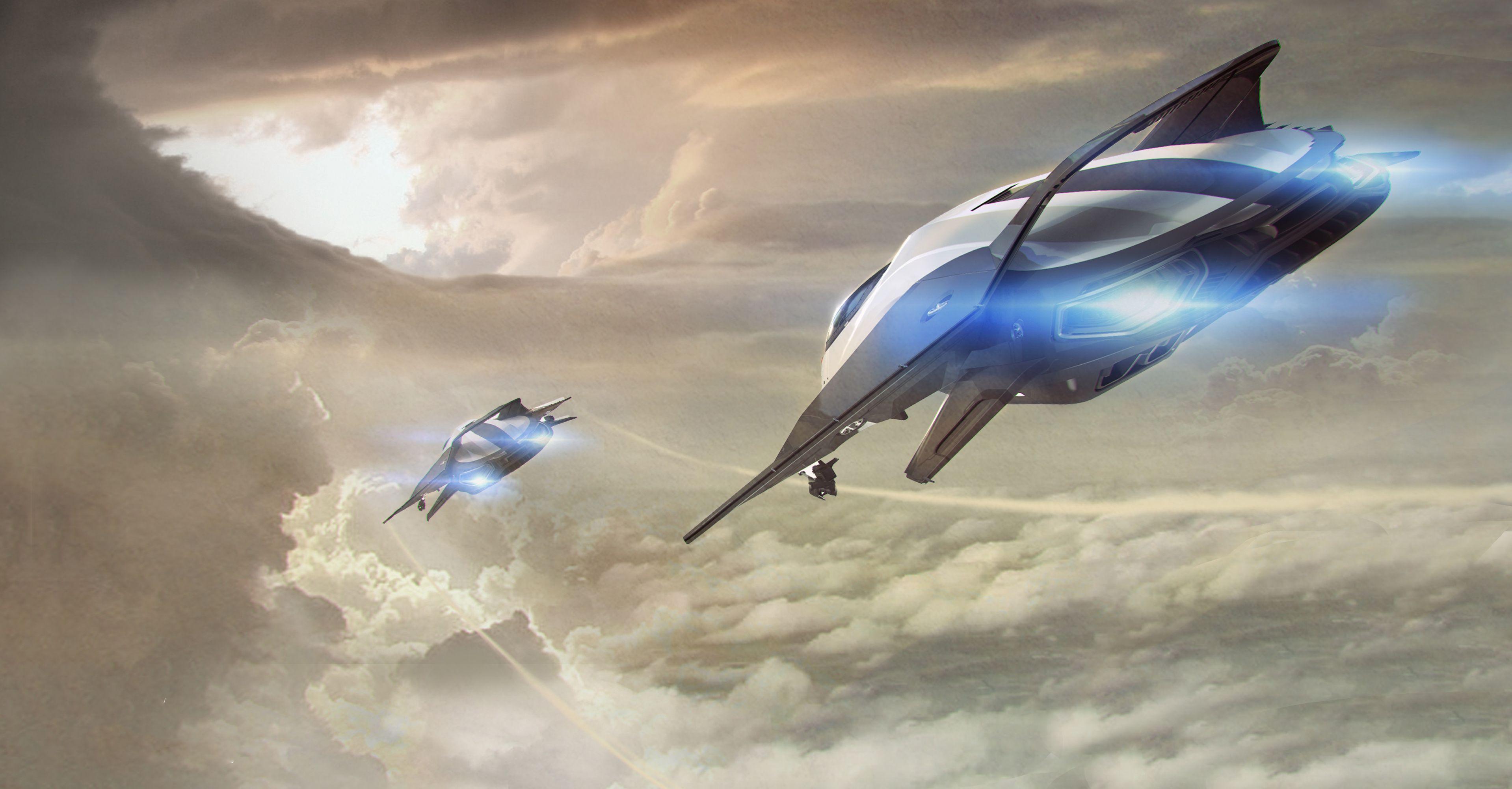 Origin 85x in the clouds StarCitizenYoutube Star
