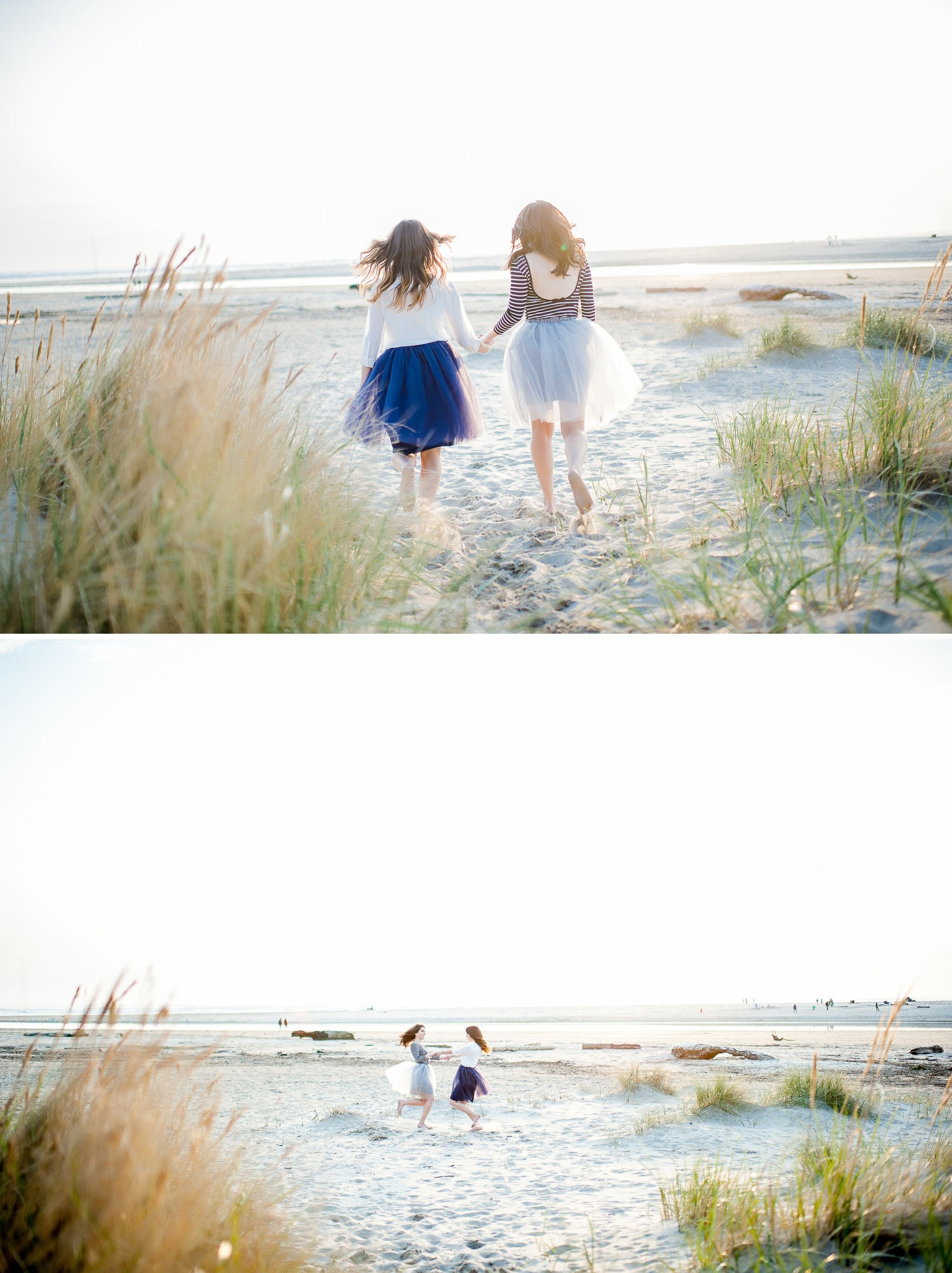 Twin sisters // best friends // Cannon Beach, OR