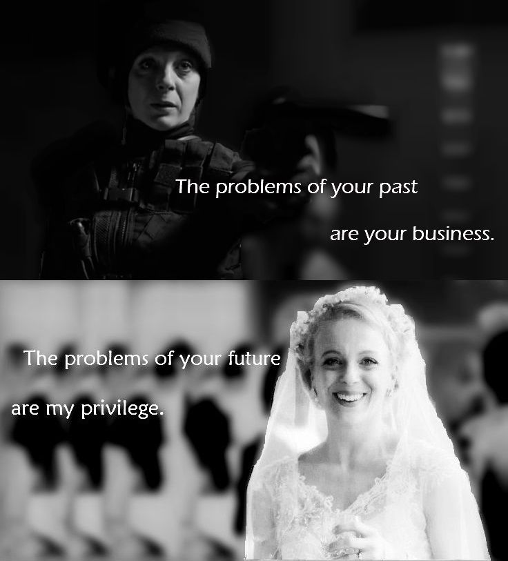 Image result for the problem of your past is your business