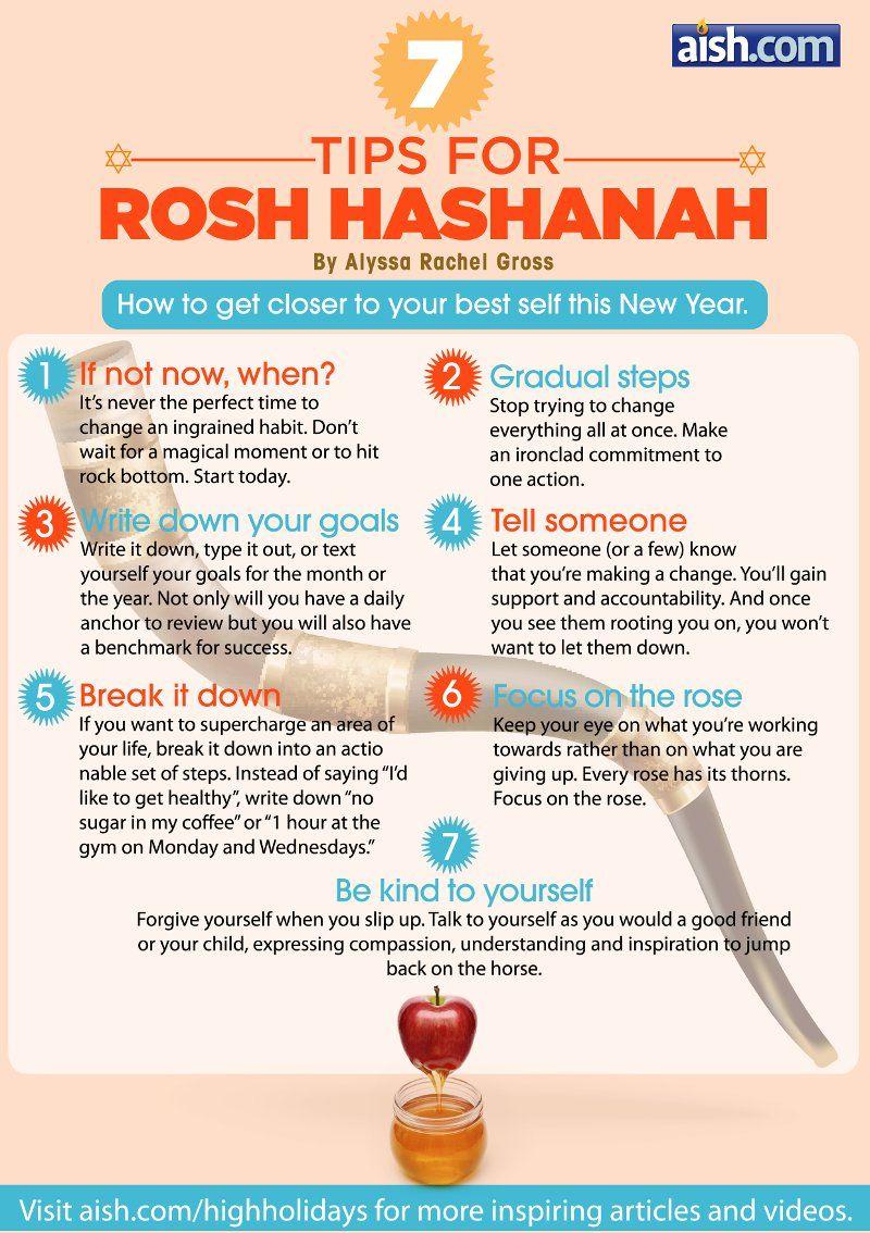 7 Tips for Rosh Hashanah #roshhashanah
