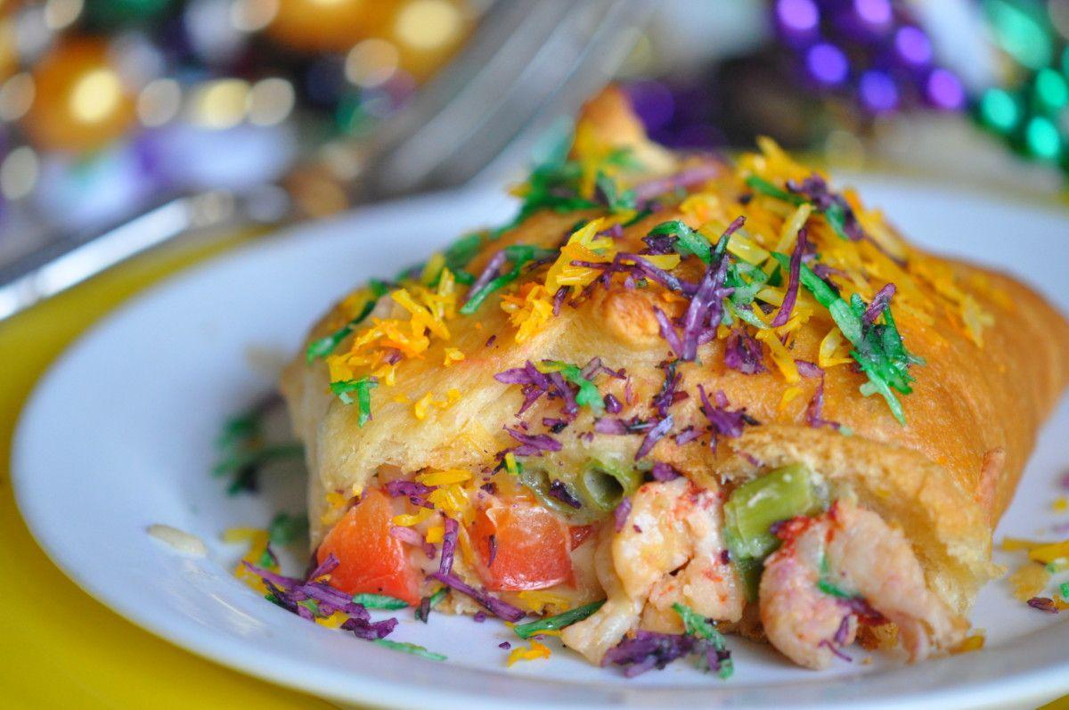 Crawfish king cake recipe crawfish recipes king cake
