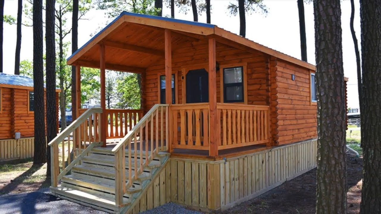Deluxe ozark log cabin tiny home w porch sleeps private