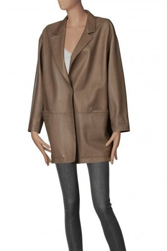SYLVIE SCHIMMEL Leather coats - Abbigliamento Pelle - Fashionis