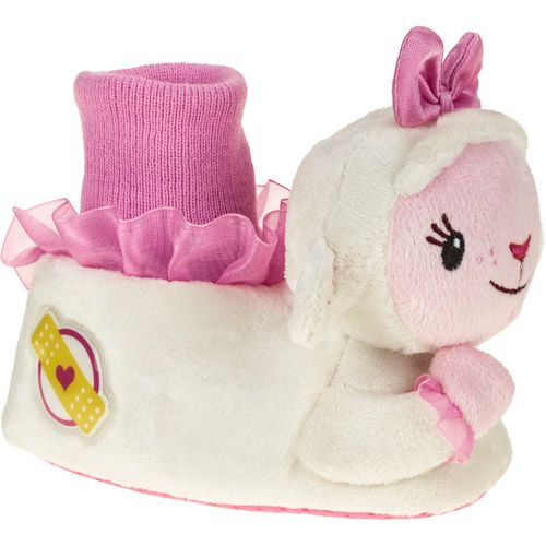 Doc McStuffins Lamb Girl's Toddler Sock-top Slipper: Baby Clothing : Walmart.com $9.97
