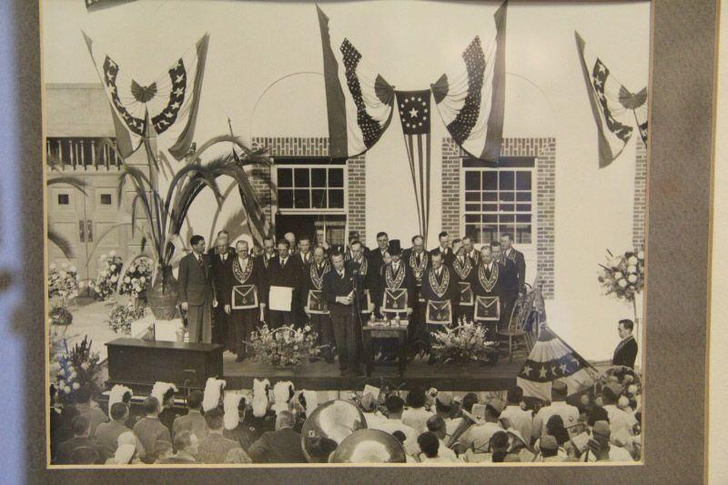 Huntington Beach Post Office Built By The Works Progress Administration In 1935 Dedication With Masonic Grand Lodge Huntington Beach Ca History Grand Lodge