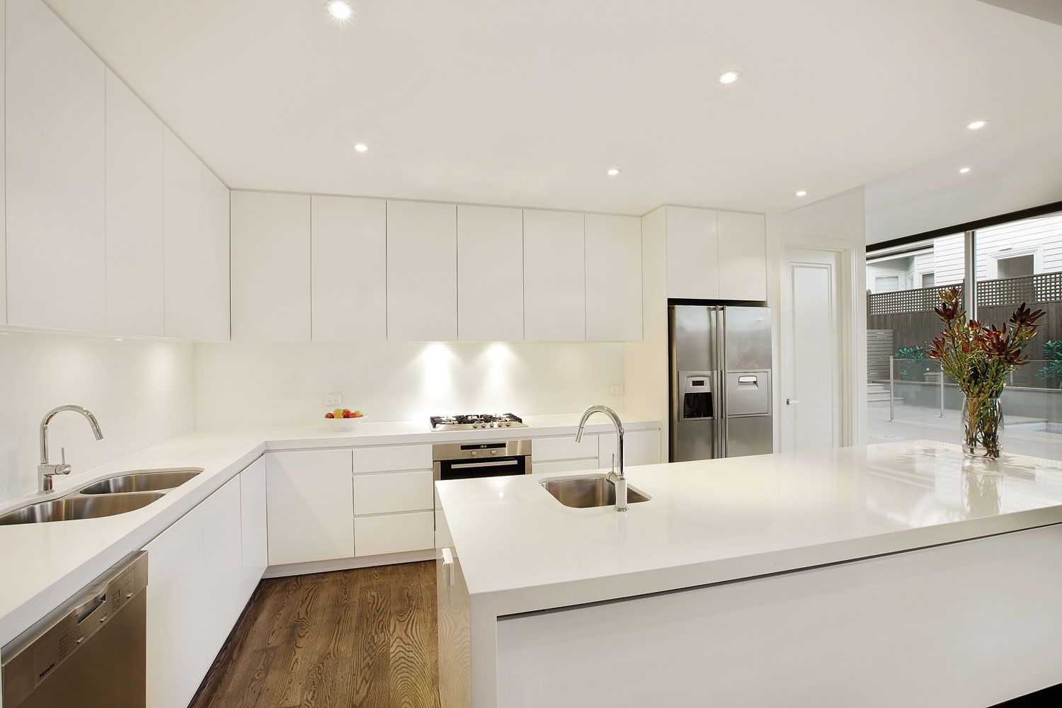 Best Canny Beautiful Simple Kitchen New Home Builders 400 x 300