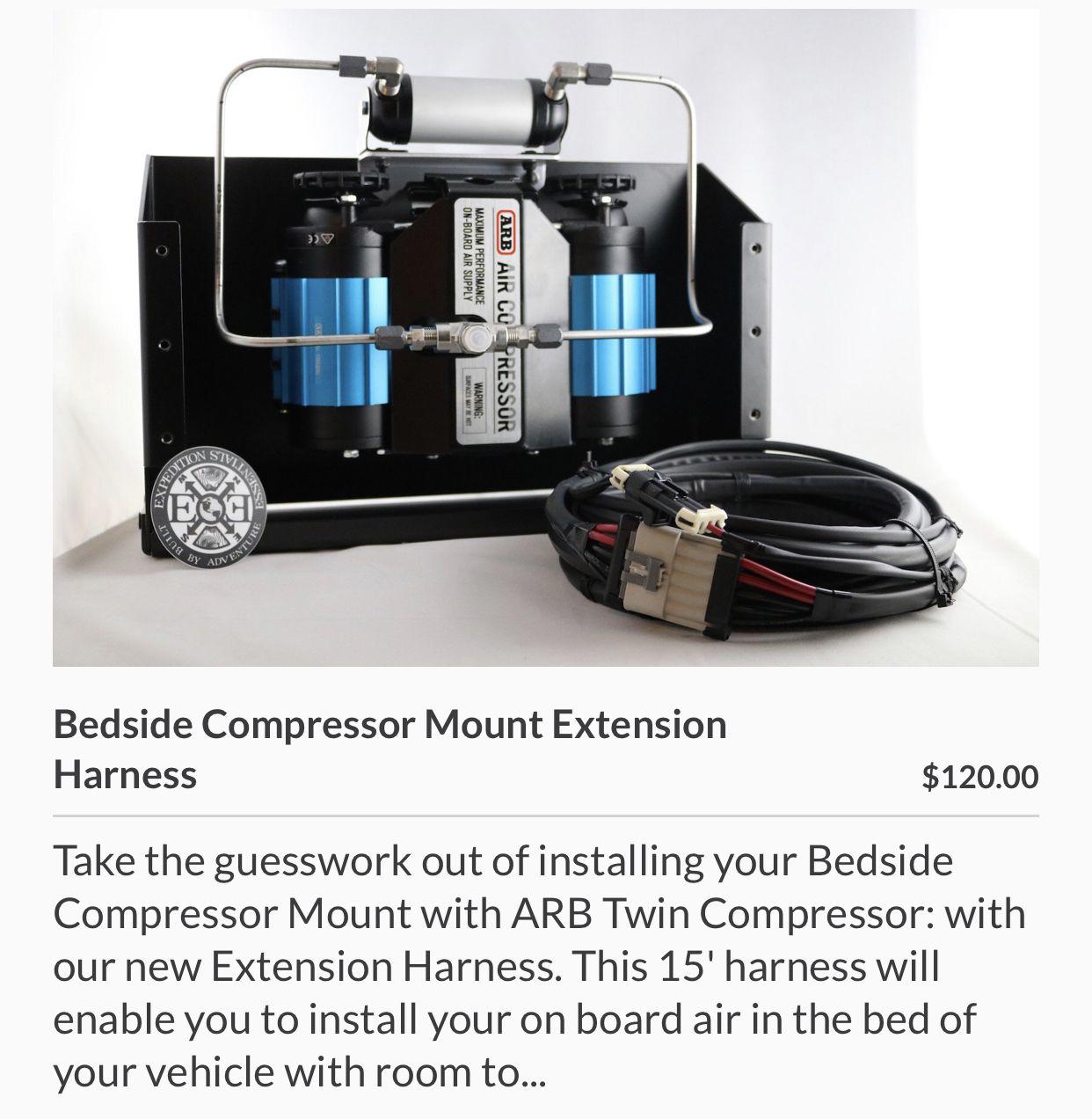 Expedition essentials air compressor   Air compressor, Compressor ...