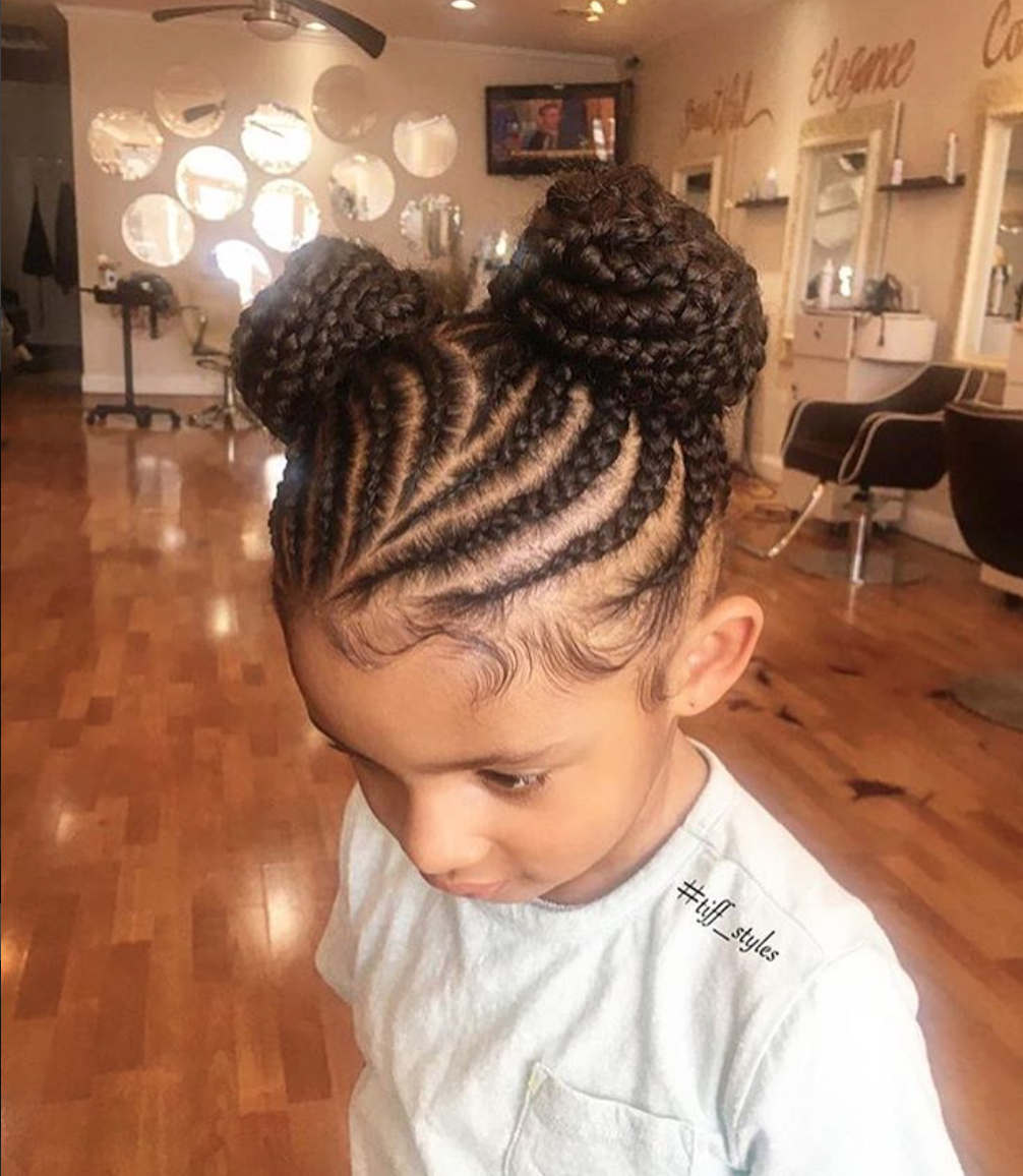 Hairstyles For Black Little Girls So Adorable Via Tiff_Styles  Httpsblackhairinformation