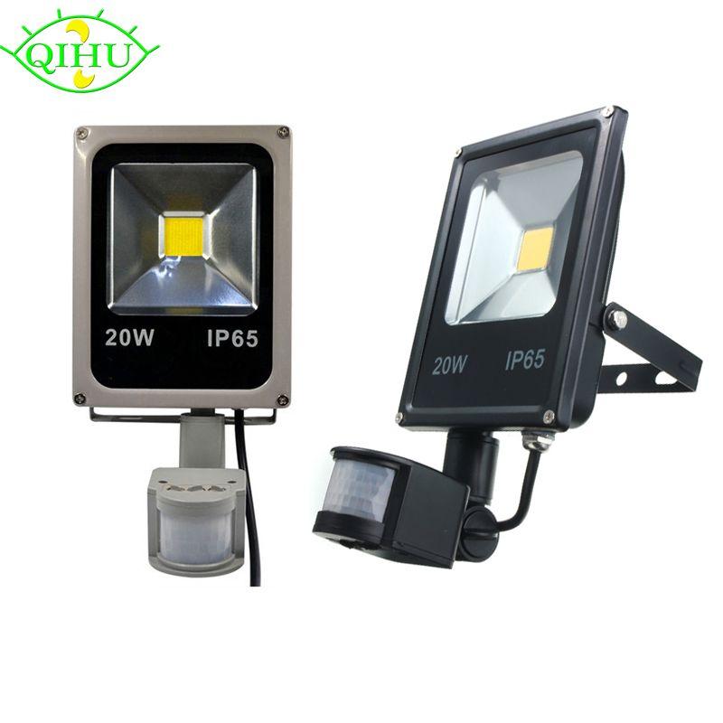 LED flutlicht 10 Watt 20 Watt 30 Watt 50 Watt Pir bewegungssensor ...