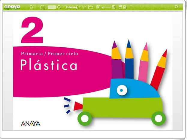 Libro Digital De Plastica De 2º De Primaria Editorial Anaya