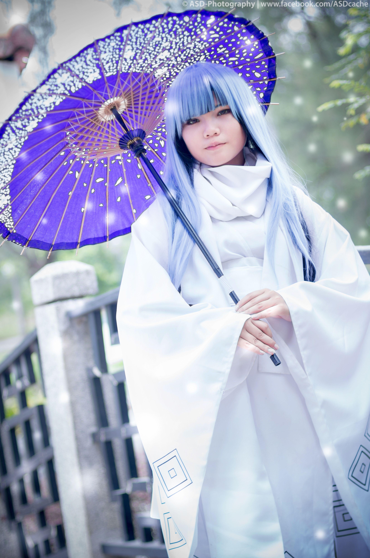 Nurarihyon no Mago Yuki Onna Oikawa Tsurara Kimono Cosplay Party Costume