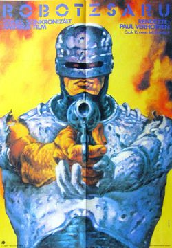 Robocop Hungarian Vintage Movie Poster Artist Helenyi Tibor