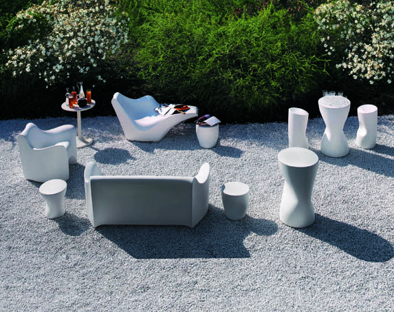 Sedie Driade ~ Driade tokyo pop collection outdoor collection designed by