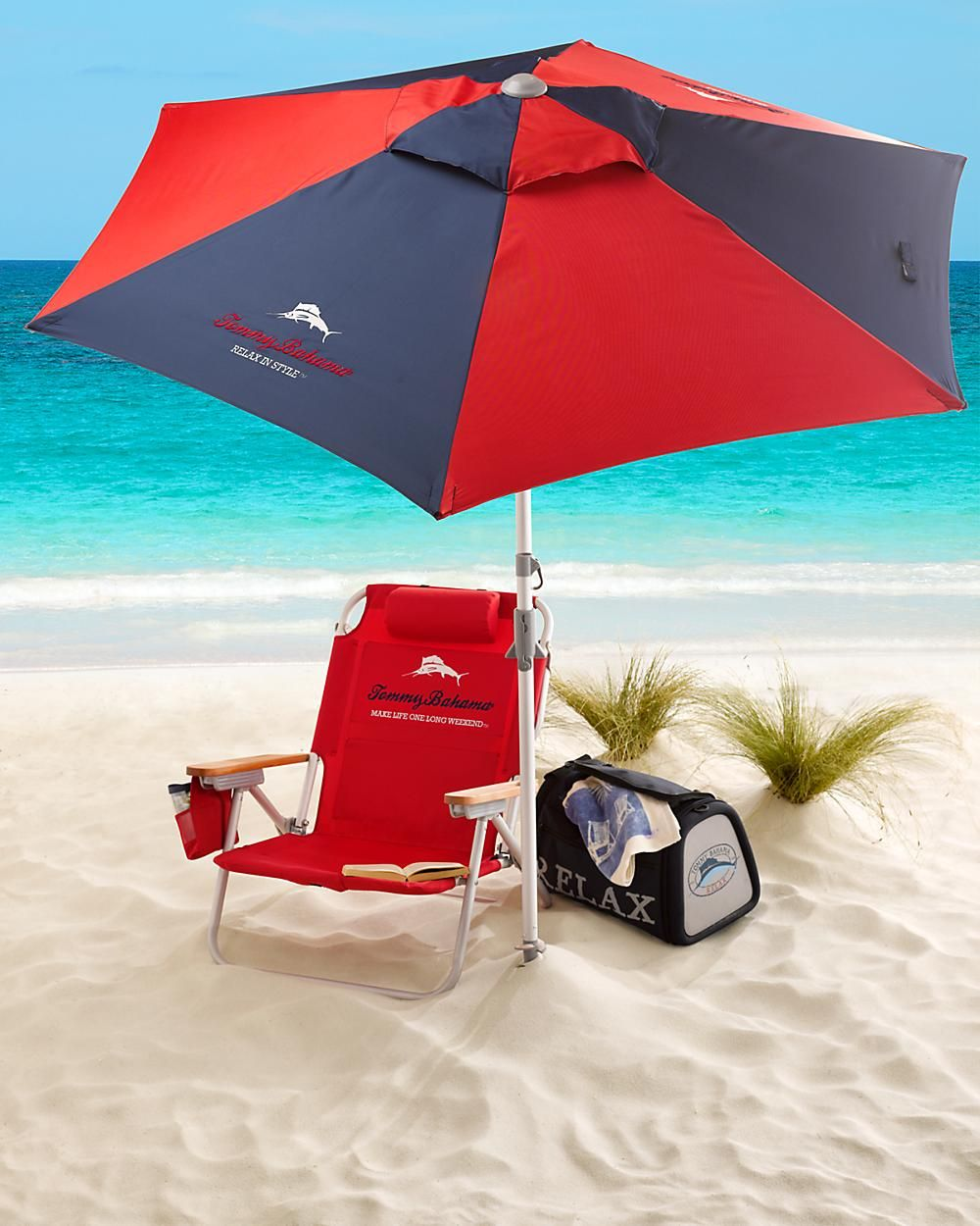Tommy Bahama bech chair & maybe umbrella too?!?awesome