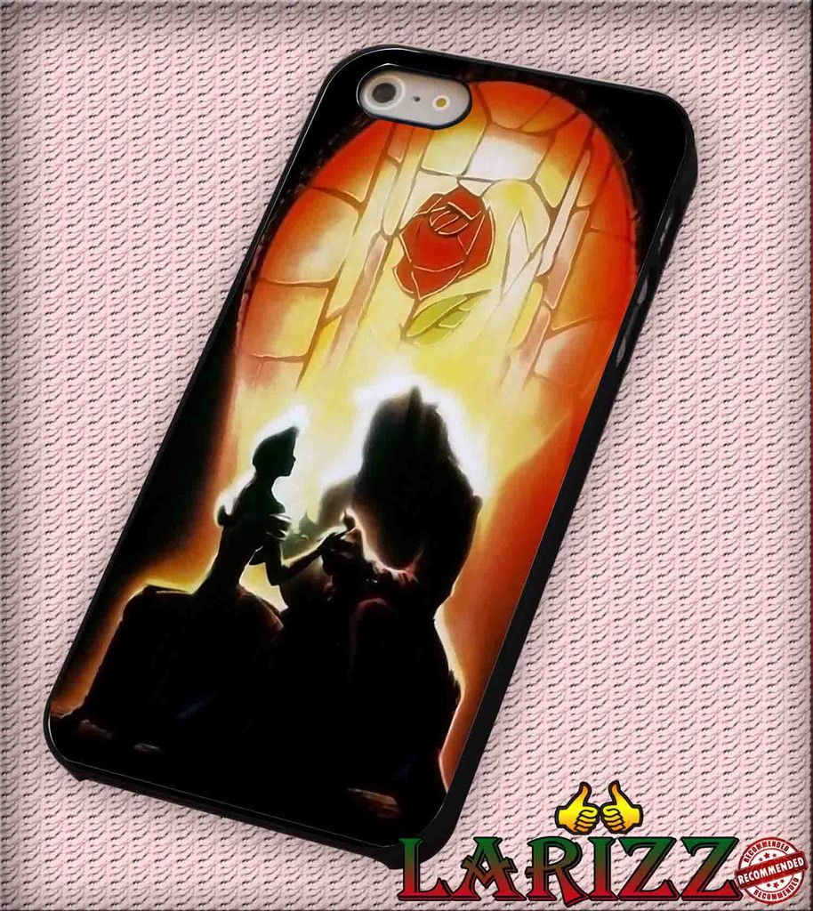 "Beauty And The Beast, Disney cartoon for iPhone 4/4s, iPhone 5/5S/5C/6/6 , Samsung S3/S4/S5, Samsung Note 3/4 Case ""007"""