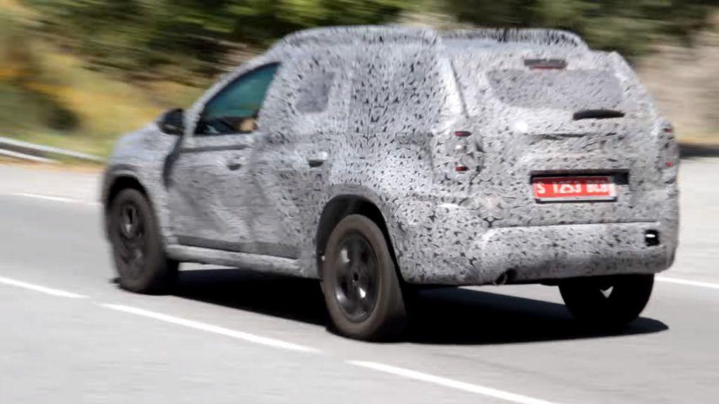 2018 #Dacia #Duster (2018 #RenaultDuster) spotted in Spain [Video]