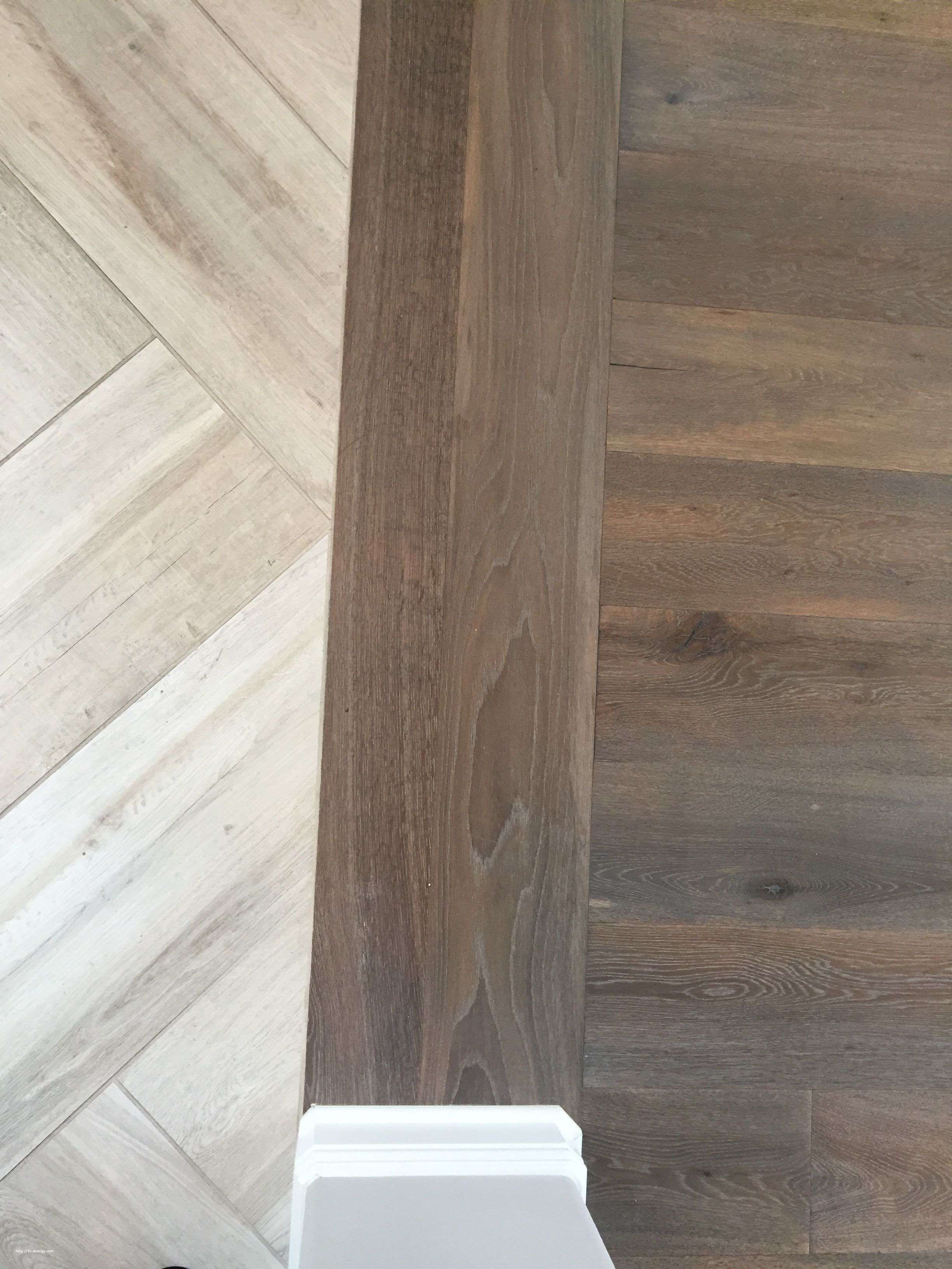 Floor Transition Laminate To Herringbone Tile Pattern