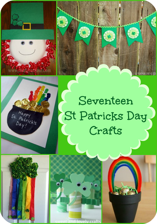 The 17 St. Patricks Day Crafts Are A Fun Way To Celebrate St Pattys Day  With Your Family. There Are St. Patricks Day Crafts For Kids, St Patricks  Day Home ...